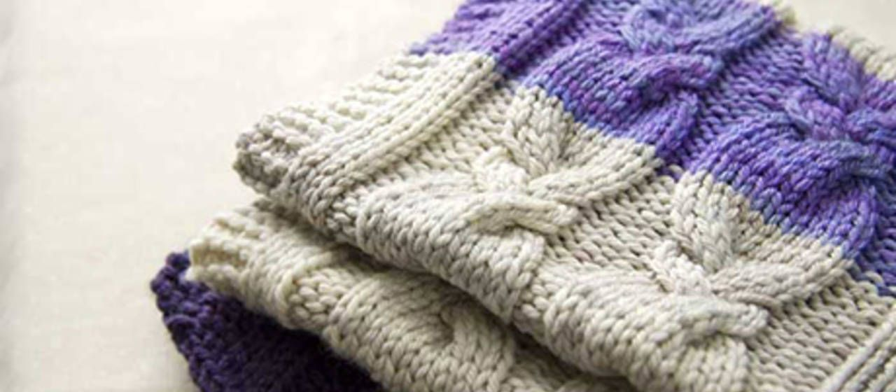 How to Knit a Cabled Blanket   Cable Knit Blanket Pattern   Idiot's Guides