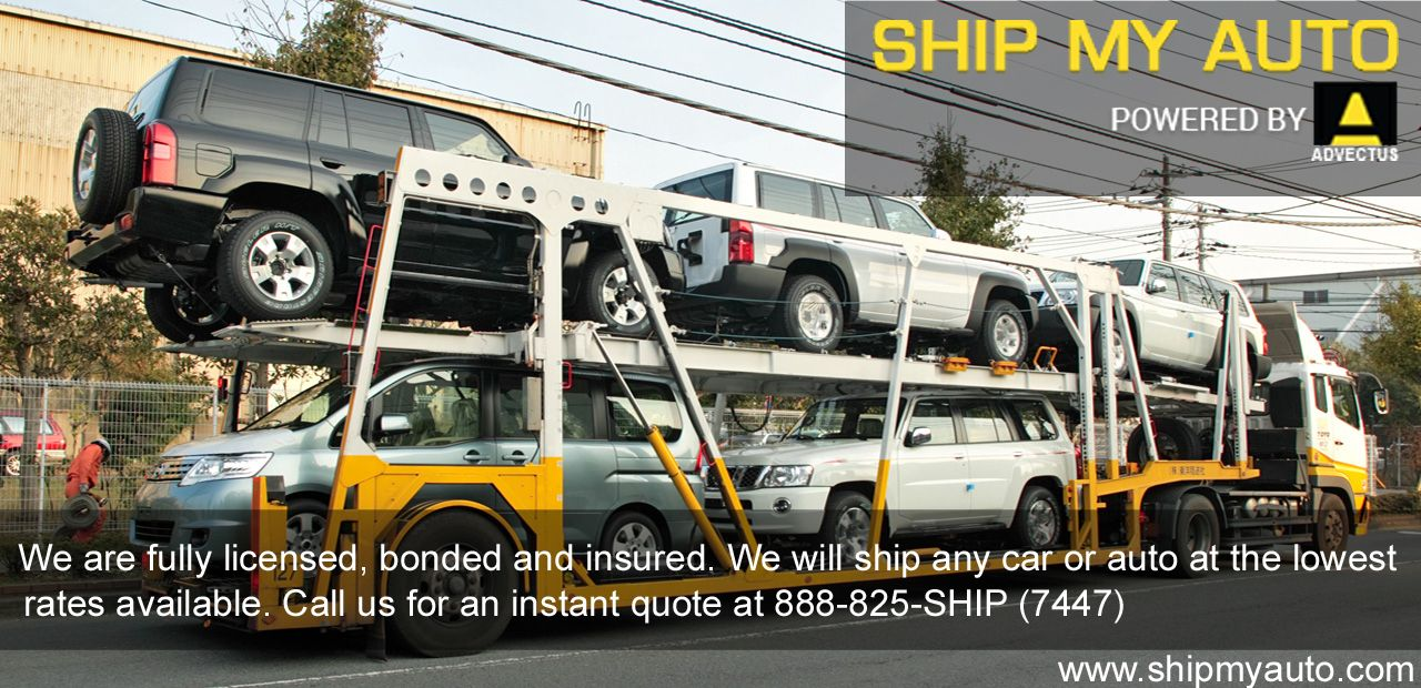 Car Shipping Quotes Pleasing We Are Fully Licensed Bonded And Insuredwe Will Ship Any Car Or