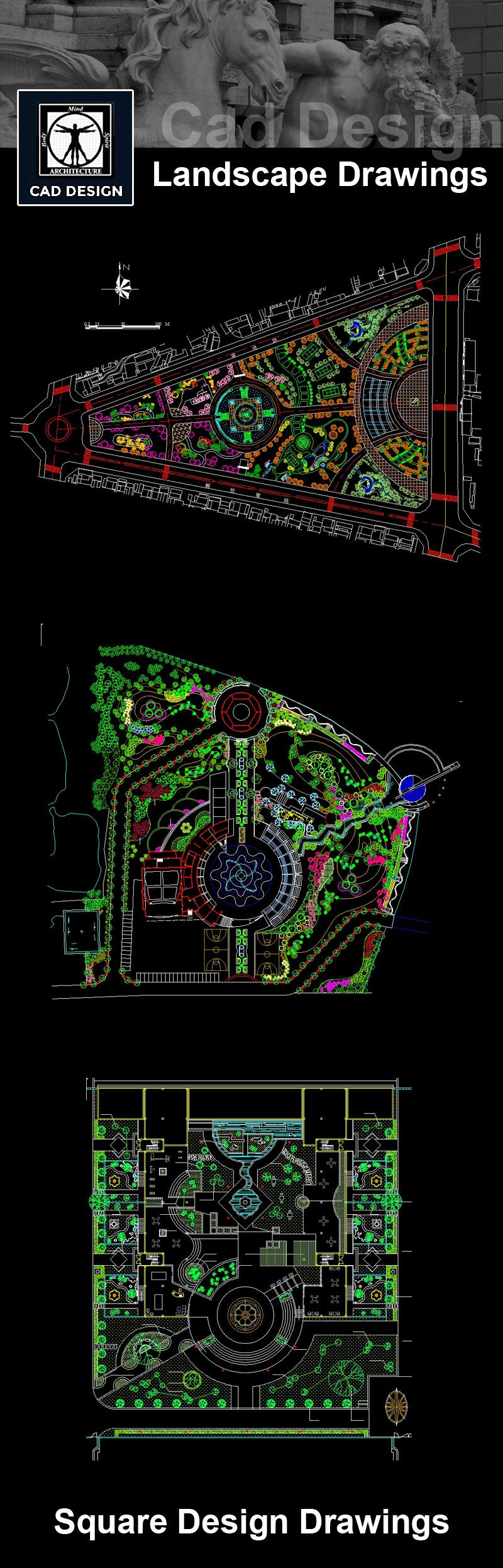 Download urban design planning drawings now https for Autocad landscape architecture