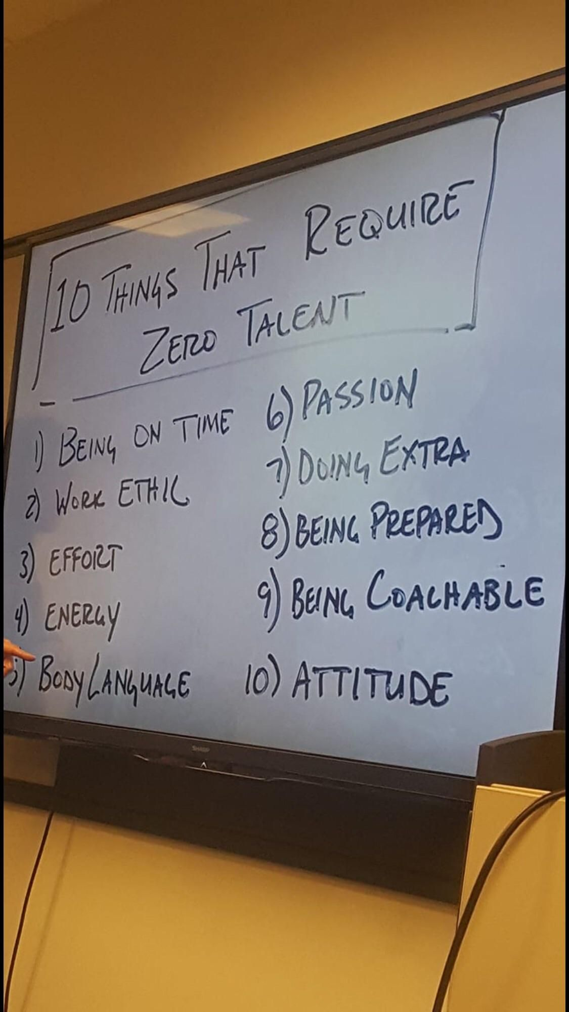 Image 10 Things That Require Zero Talent Getmotivated