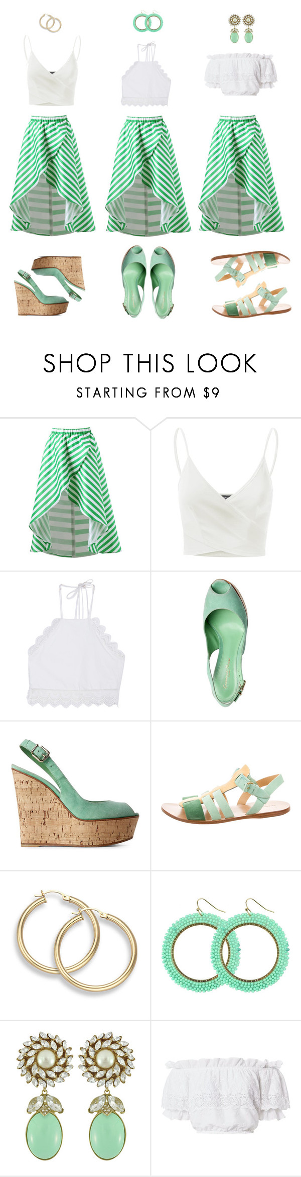 """""""1 item - 3 looks"""" by tlb0318 ❤ liked on Polyvore featuring Doublju, Front Row Shop, Balenciaga, Ciner and LoveShackFancy"""