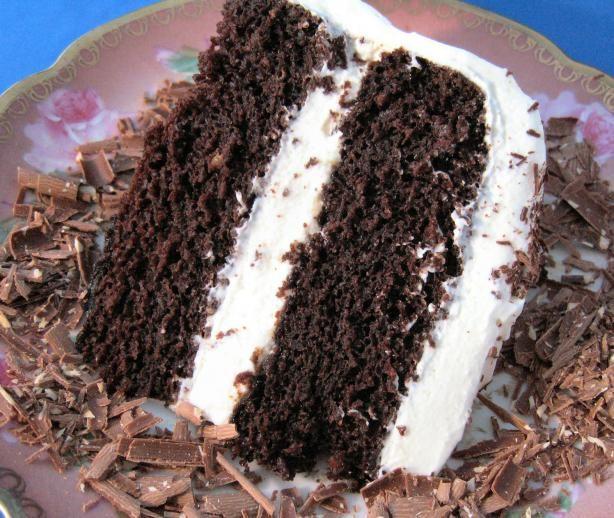 Black Coffee Chocolate Cake.