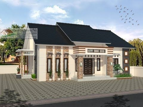 modern house 13x10 4 k tidur desain rumah minimalis rumah