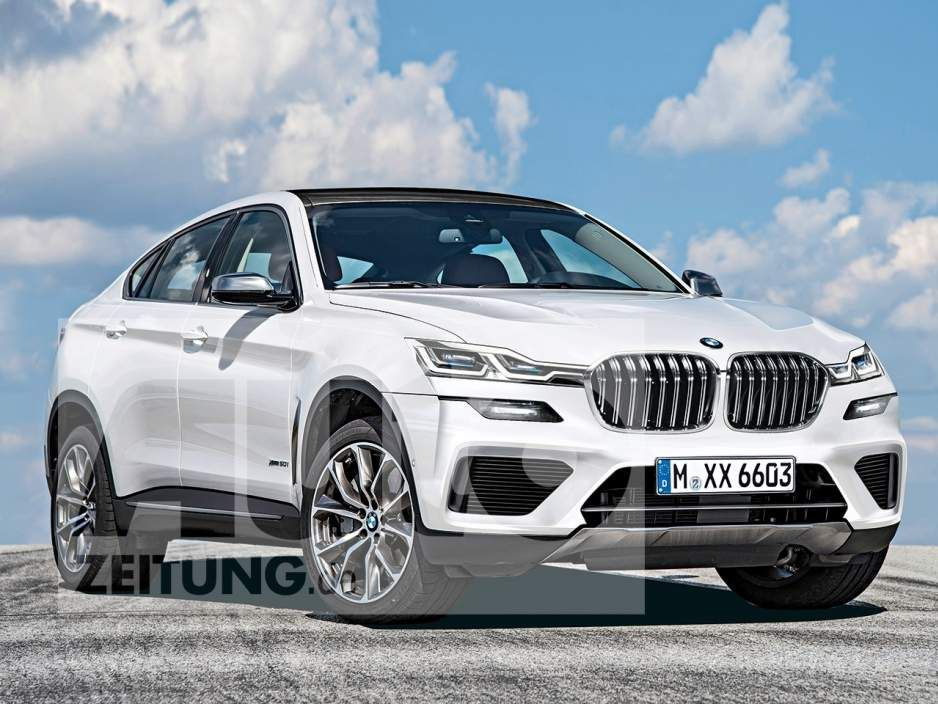 2021 Bmw X6 Rendering Shows A Sleek Design Bmw X6 Bmw Super Luxury Cars