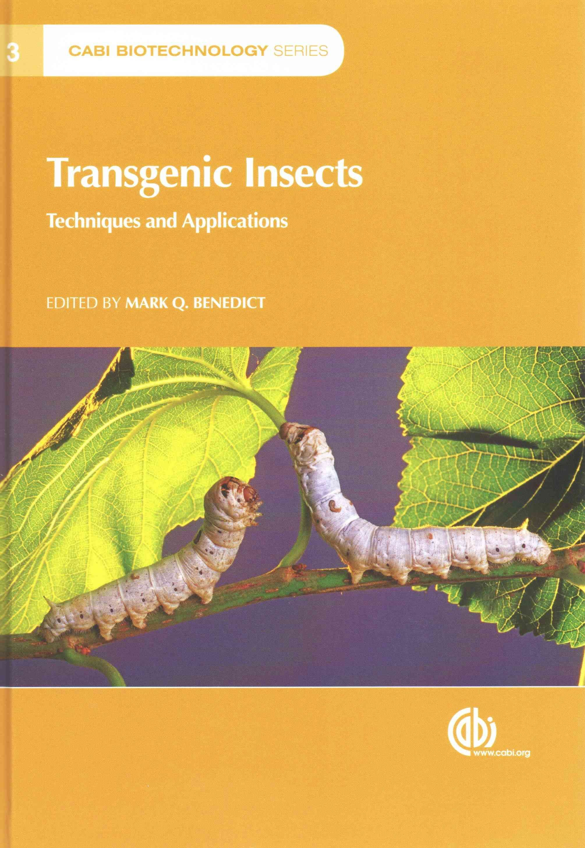 Transgenic Insects: Techniques and Applications