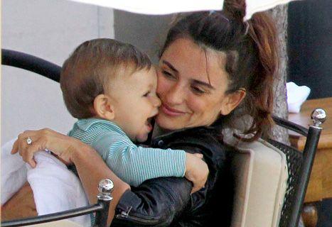 Penelope Cruz, Javier Bardem Take Son Leo, 10 Months, For
