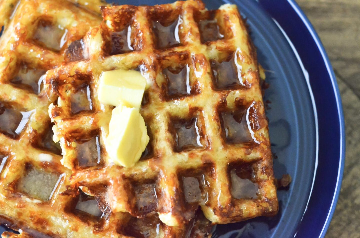 How to make grain-free, low carb keto waffles #lowcarbeating
