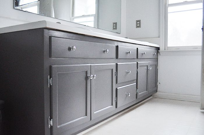 Domestiphobia Bathroom Cabinet Colors Grey Bathroom Cabinets Valspar Paint Colors Gray