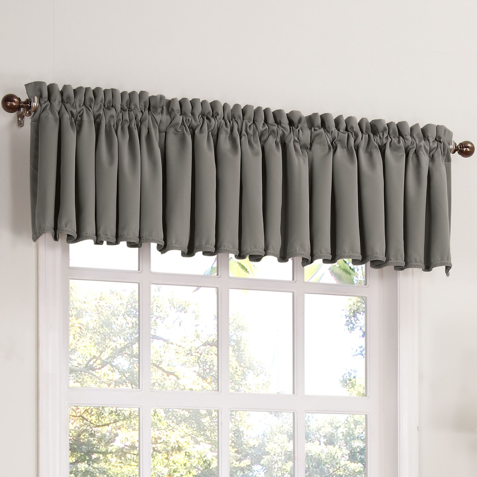 Marcy Thermal Curtain Valance