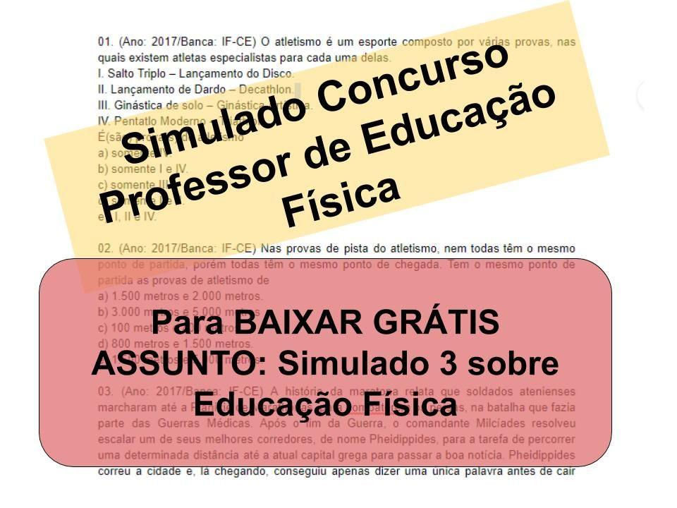 Pin De Questoesconcursopedagogia Em Simulado Concurso Professor De
