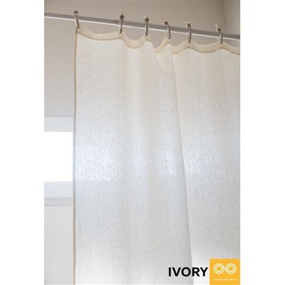 Sustainable Organic Hemp Curtain For Your Eco Friendly Home Works Wonderfully As A Safe Pvc Free Non Toxic Org Curtains Stall Shower Curtain Shower Curtain