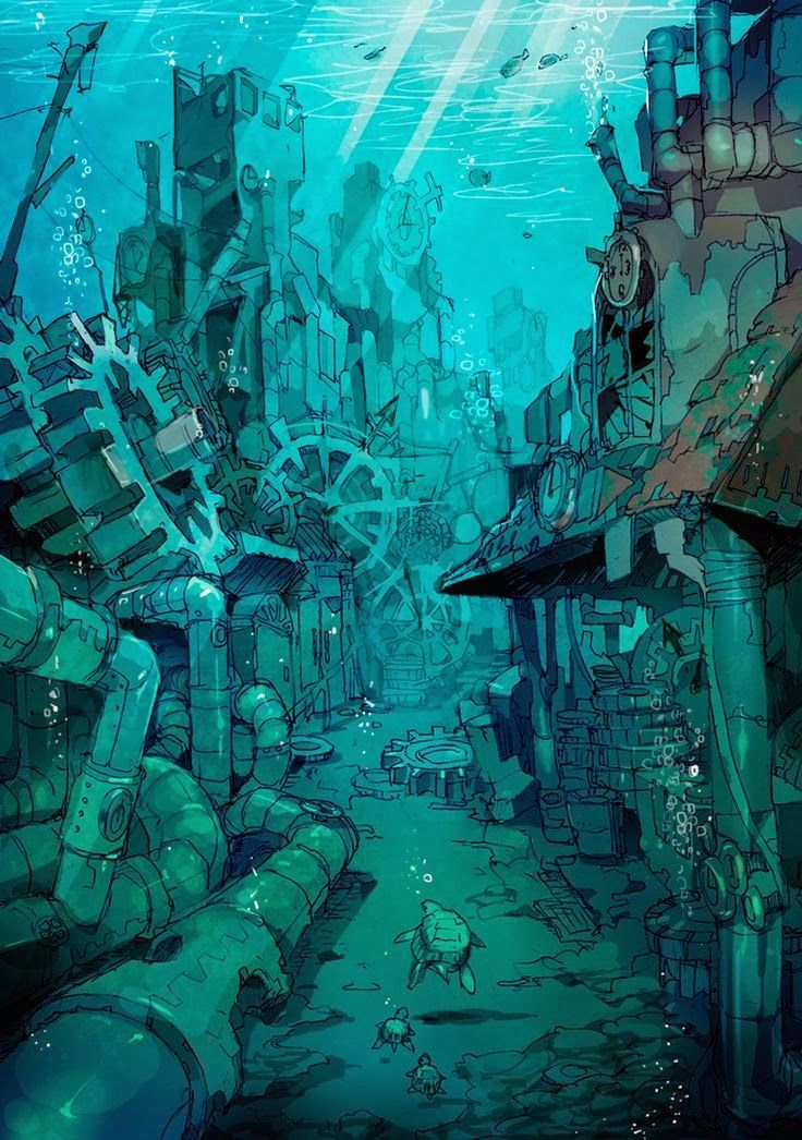 D co steampunk dessin pinterest steampunk ville for Architecture ephemere definition