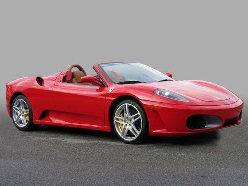 2008 Ferrari F430 F1 Spider Meticulous Records On Car Rosso Corsa