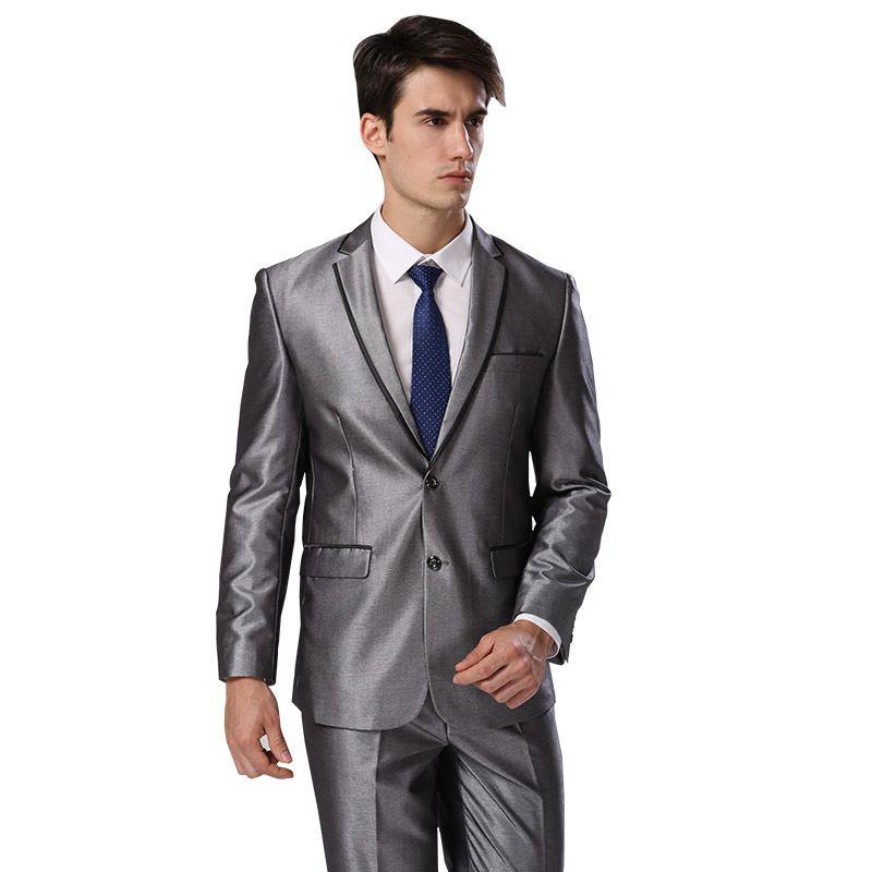 Jacket Pants Tie)Plus Standard Euro-Size Men Suits 2015 New ...