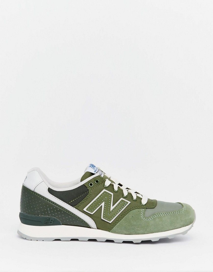 new balance 996 mint green trainers