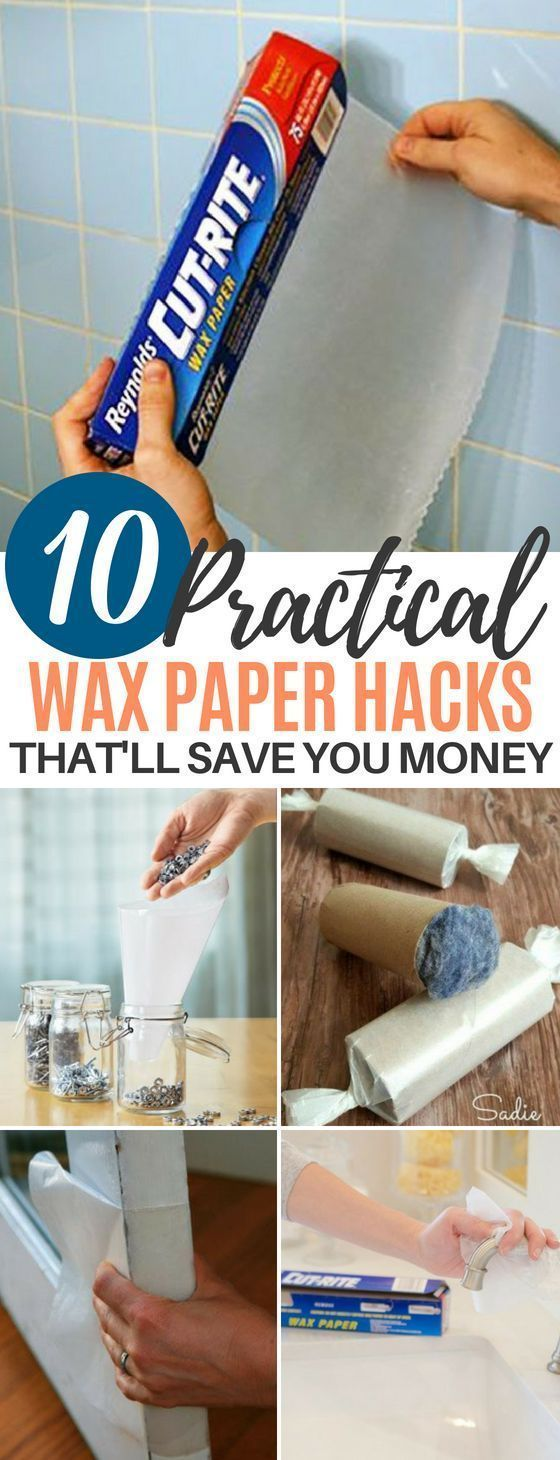 10 Genius Wax Paper Life Hacks for Your Household Needs These 10 Practical Wax Paper Hacks Will Help You With Daily Household Tasks You Never Thought You Could Make Easie...