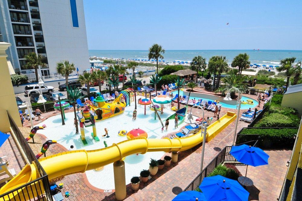 9 Unique Pool Attractions At Sea Crest Resort