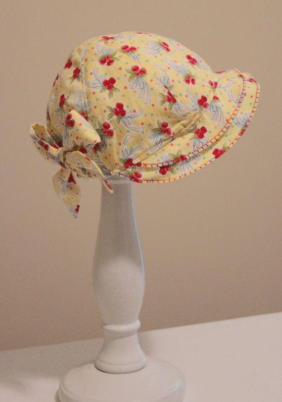 Vintage Hat Easter Bonnet Sew Vintage by FootLooseFancyFree   Sewing ...