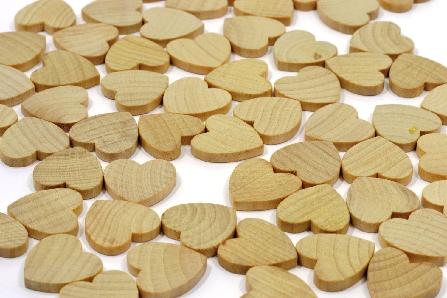 50 Wooden Hearts 3 4 Quot Small Wooden Hearts Unfinished Hardwood Wedding Table Decorations Weddin Wooden Hearts Wood Heart Wedding Wedding Table Decorations