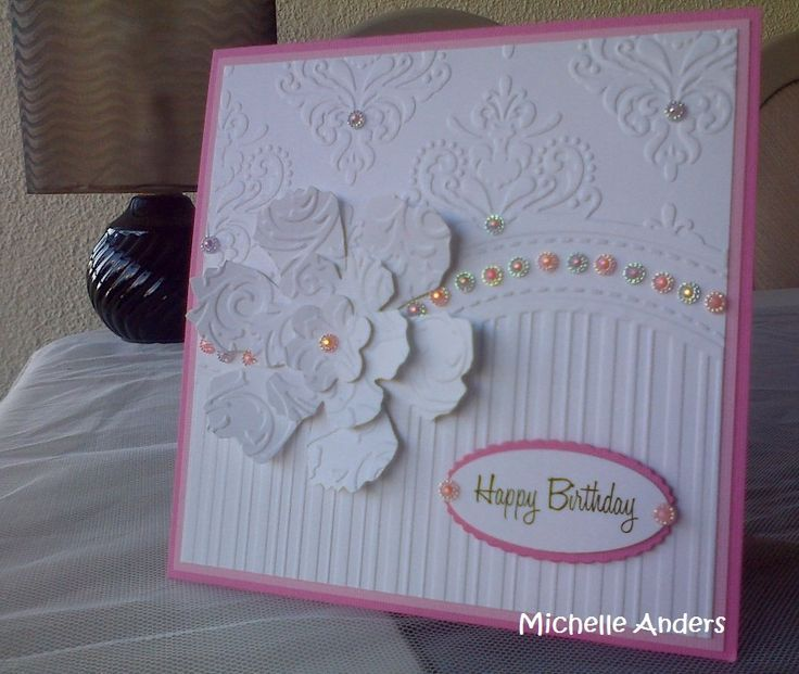 Beautiful Card Making Ideas With Embossing Folders Part - 10: All Occasions Embossing Folder Cards - Google Search More