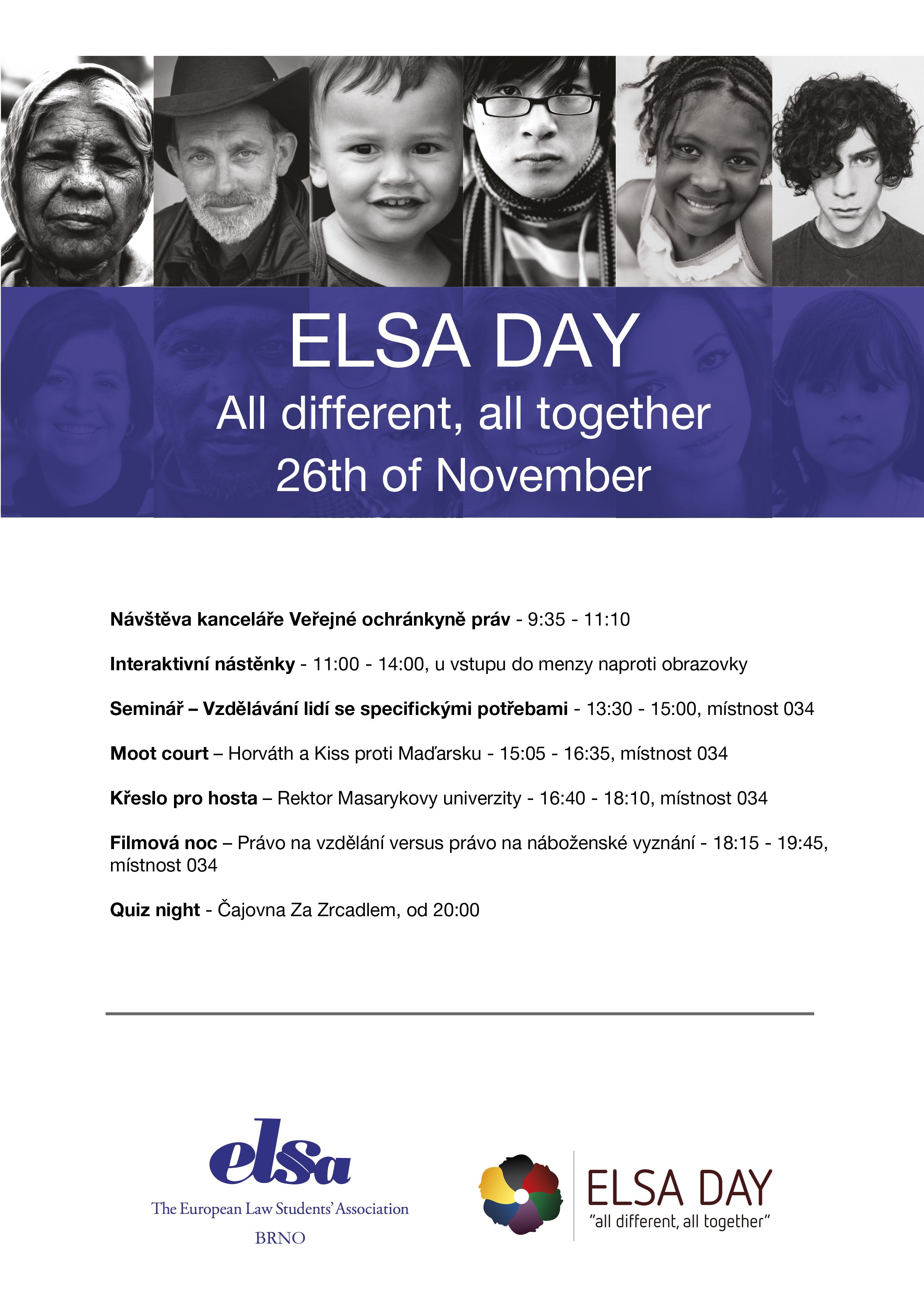 Our ELSA Day program Posters Pinterest