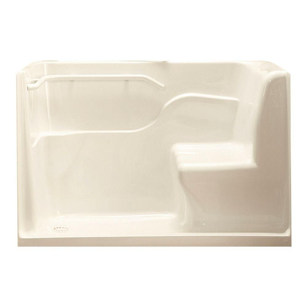 American Standard 30 In X 59 5 In X 37 In Seated Safety Shower