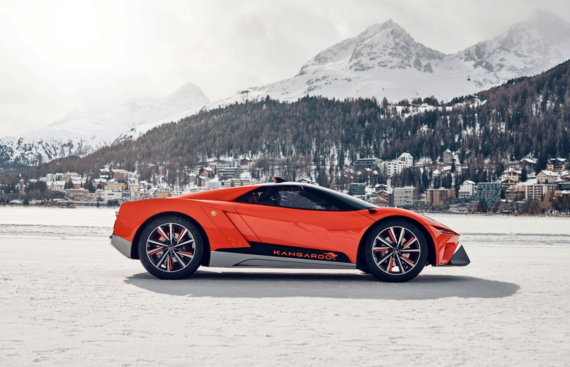 The Gfg Style Kangaroo Is A Lifted And Gifted Electric Hyper Suv Super Cars Suv Geneva Motor Show