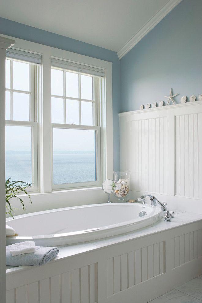 Beach Style Bathroom Designs Coastal Decorating Pinterest