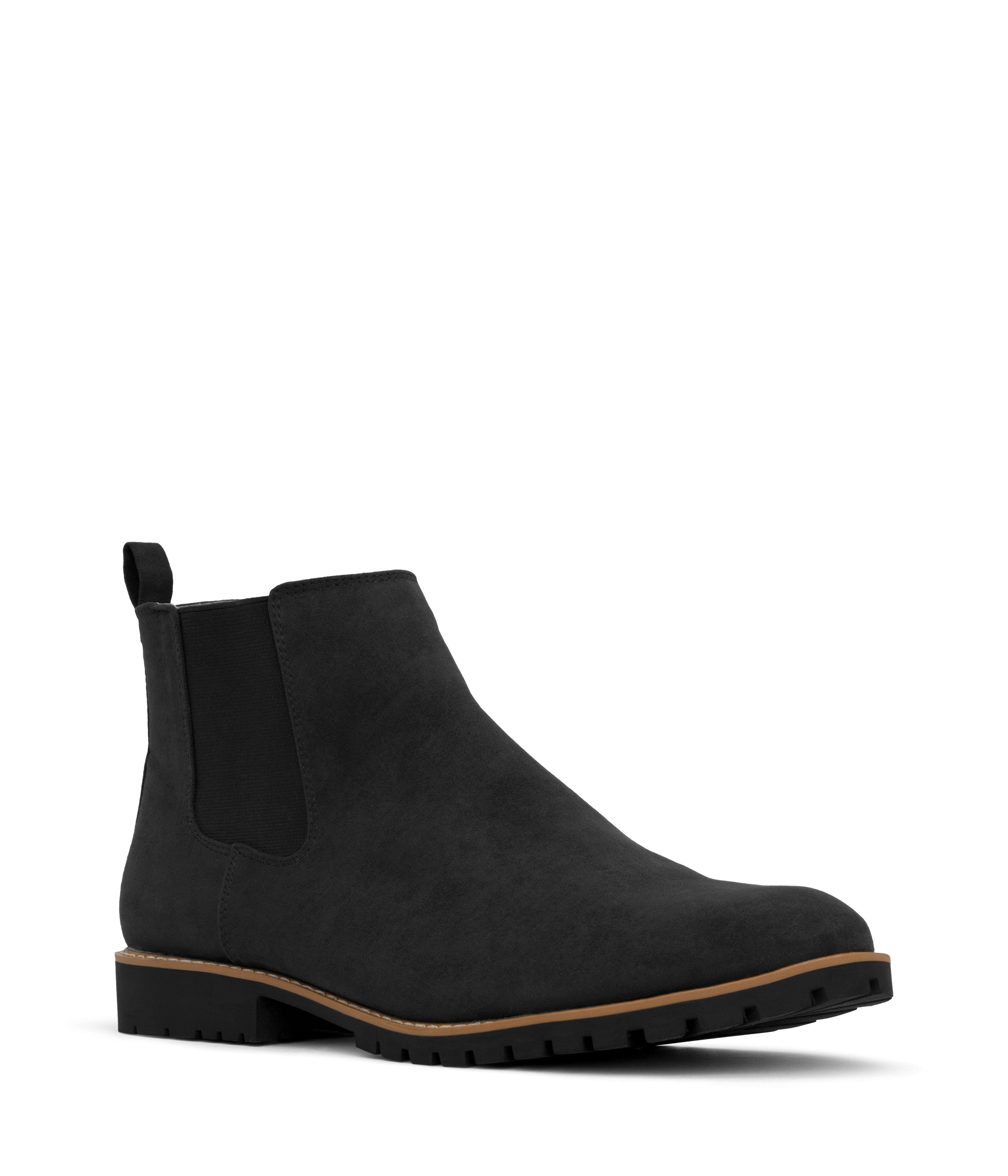 HAIL Vegan Chelsea Boot - Black | Matt