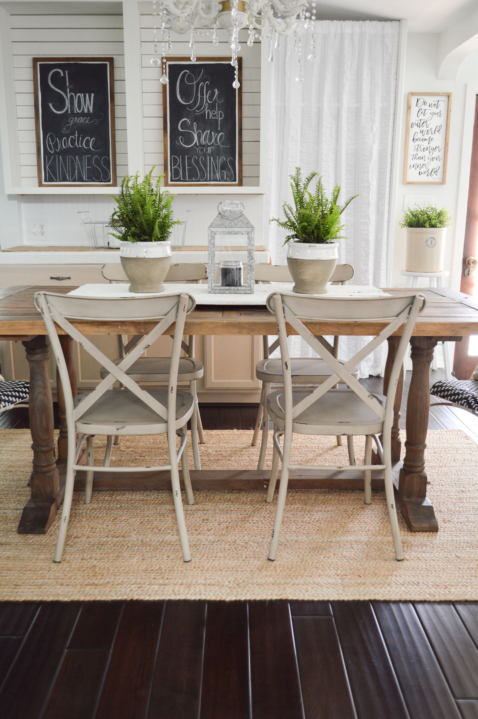 Outdoor In Spring Home Decor And Furniture Ideas Dining Room Table Farmhouse Style Furniture Interior Decorating Living Room