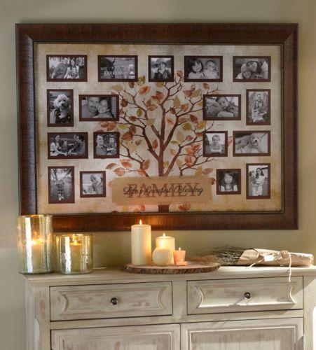 Kirkland S Collage Frames Family Tree Picture Frames Decor