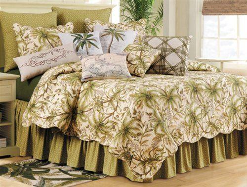 Palm Tree Bedding Sets Comforters Quilts Beachfront Decor White Bed Frame Bedding Sets Bedroom Bedding Sets