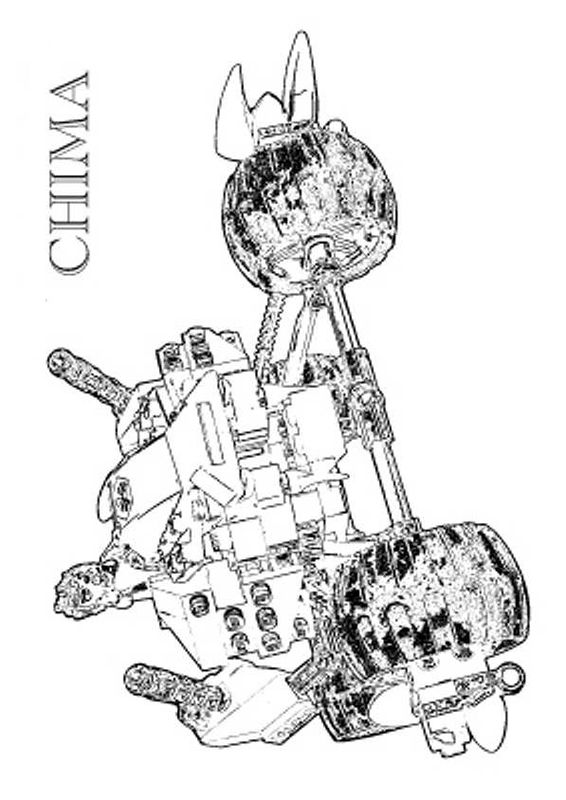 Lego Chima Coloring Pages 3 | gardening | Pinterest