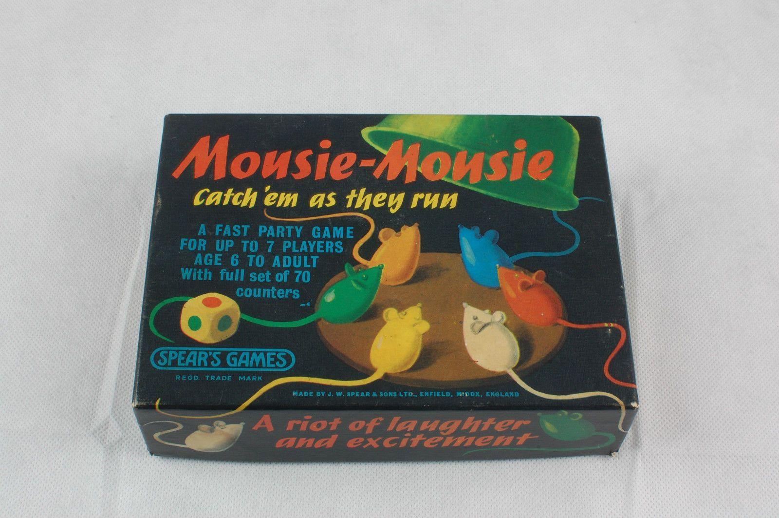Mousie Mousie 1963 Game eBay Spear games, Games