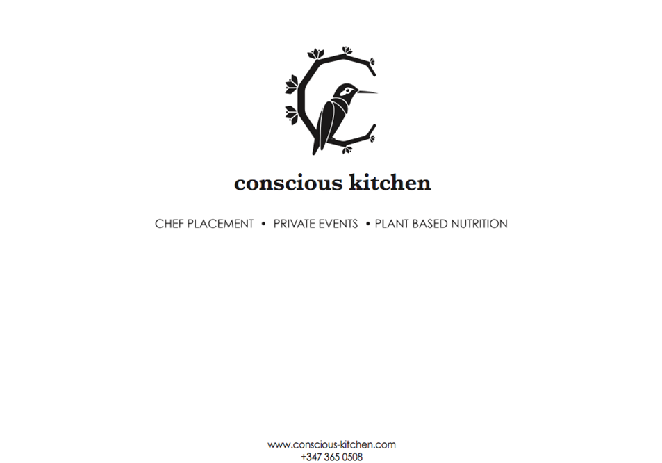 conscious kitchen agency