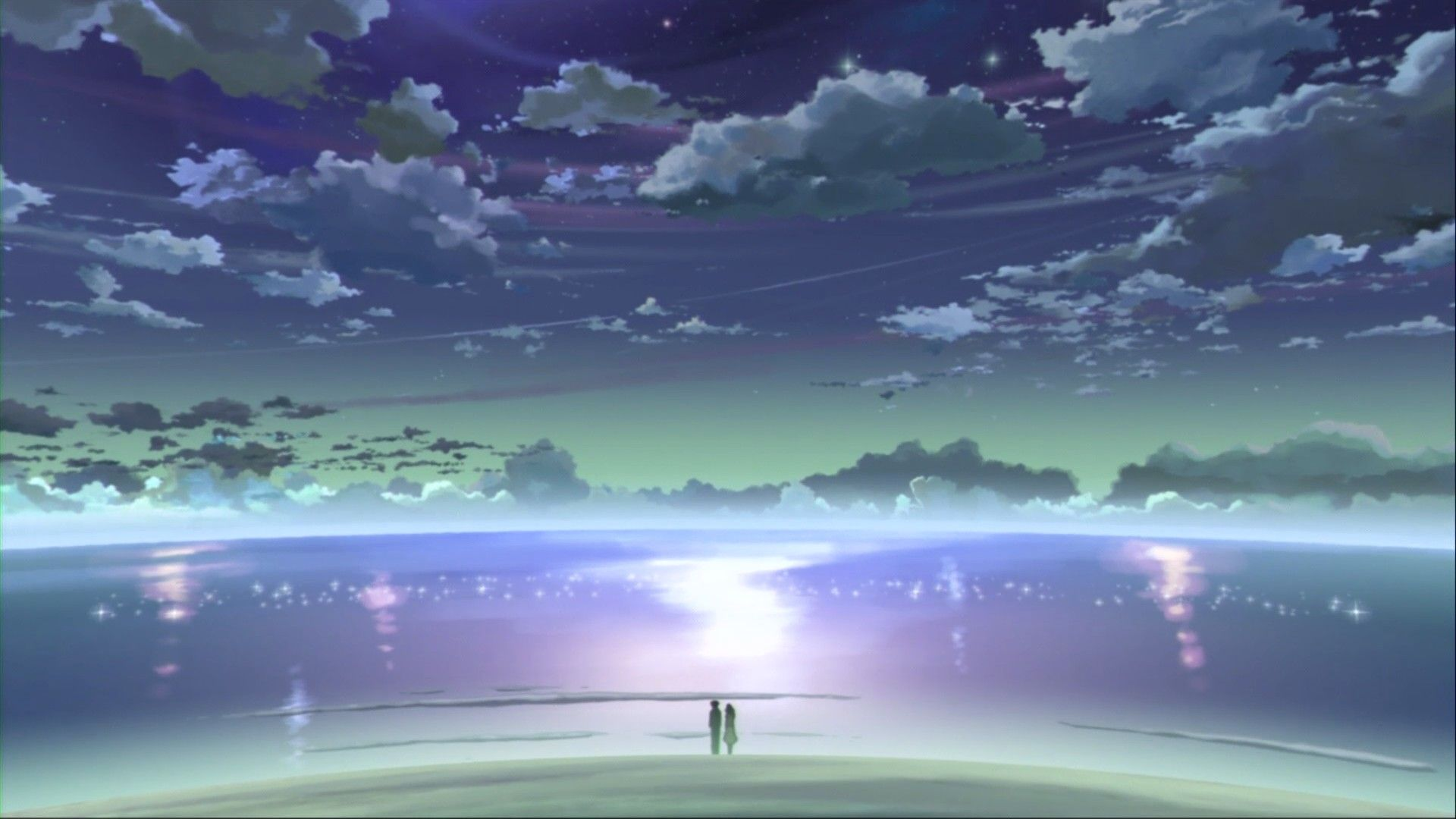 Horizon Cenário anime, Paisagens, Papel de parede anime