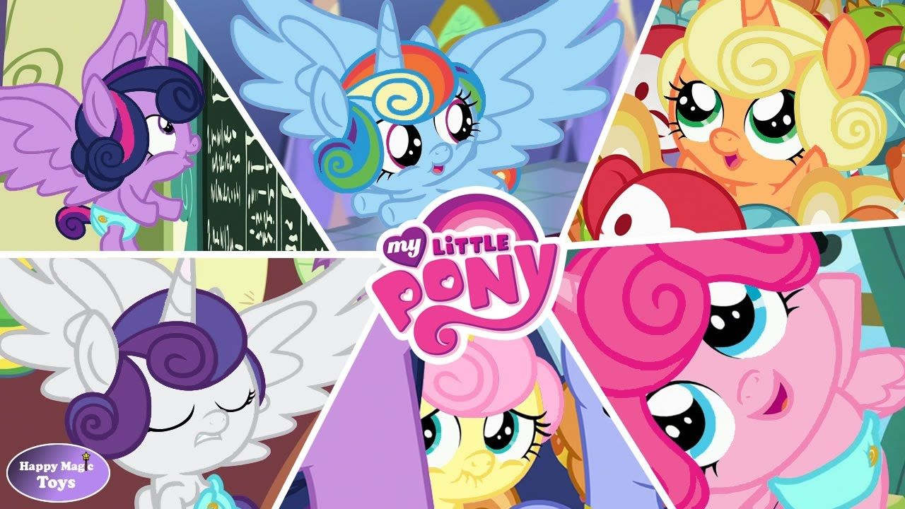 Mlp Flurry Heart Color Swap To Mane 6 Mylittlepony Mlp