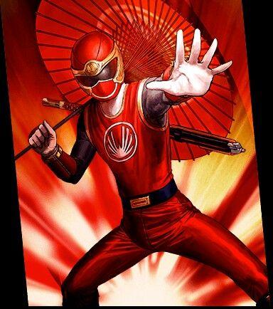 Shane Ninja Storm Red Ranger | Power Rangers | Power rangers cosplay