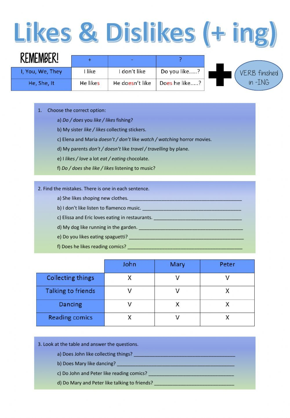 Pin by mp on grammar | Pinterest | Worksheets, English and Language