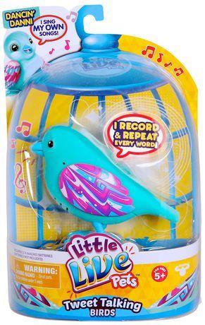 Little Live Pets Dancing Danni Bird Toy Little Live Pets Bird Toys Pets