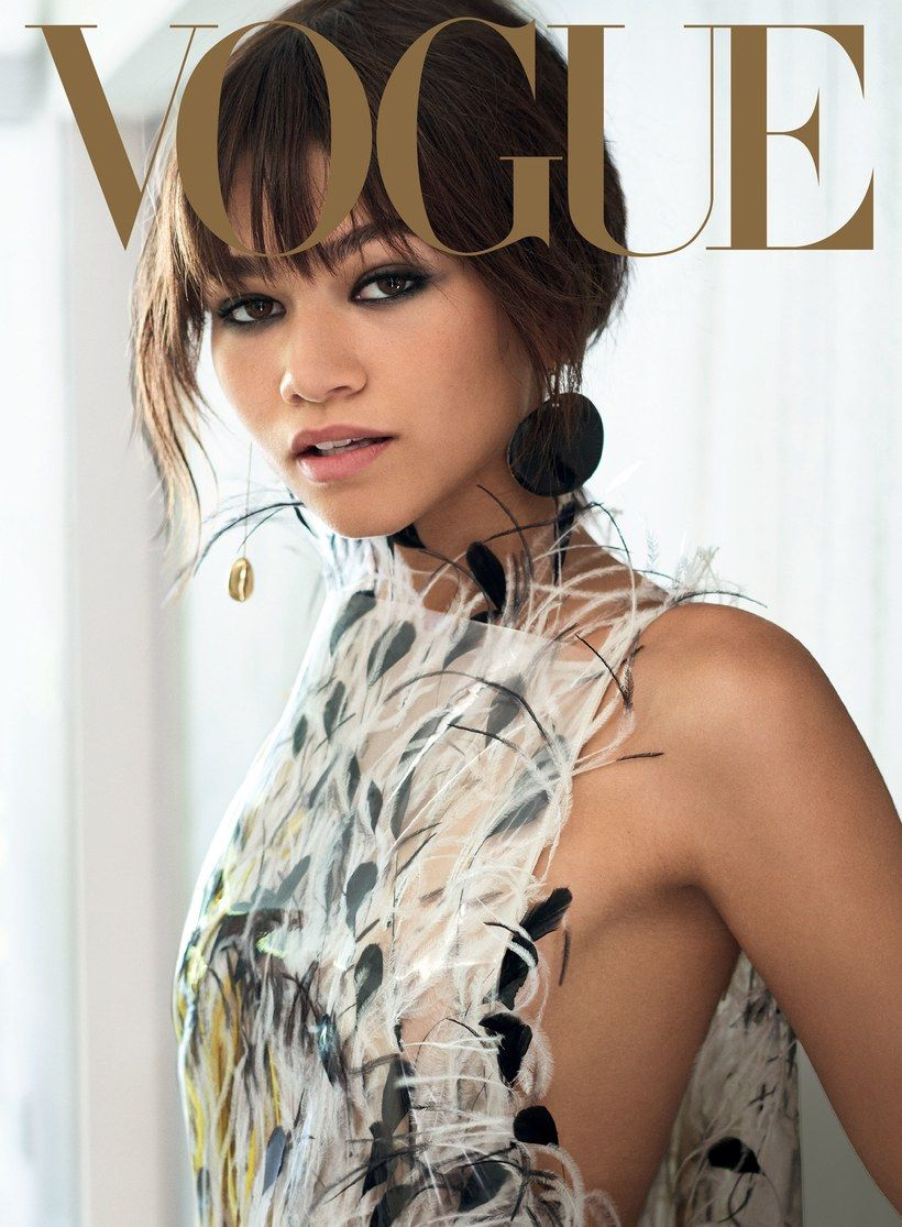 Zendaya Lands Her First Vogue Cover—But She's Always Been a Red Carpet Star – vogue