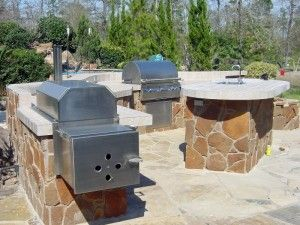 Charmant This Outdoor Kitchen By Outdoor Homescapes Of Texas Is One Of The Outdoor  Living Spaces Featured By The Outdoor Design Company For Go Texan .
