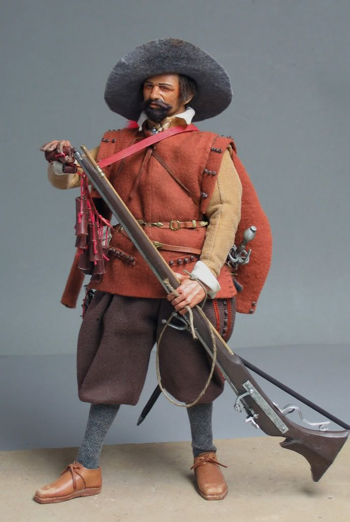 Spanish Musketeer, 1604. - OSW: One Sixth Warrior Forum
