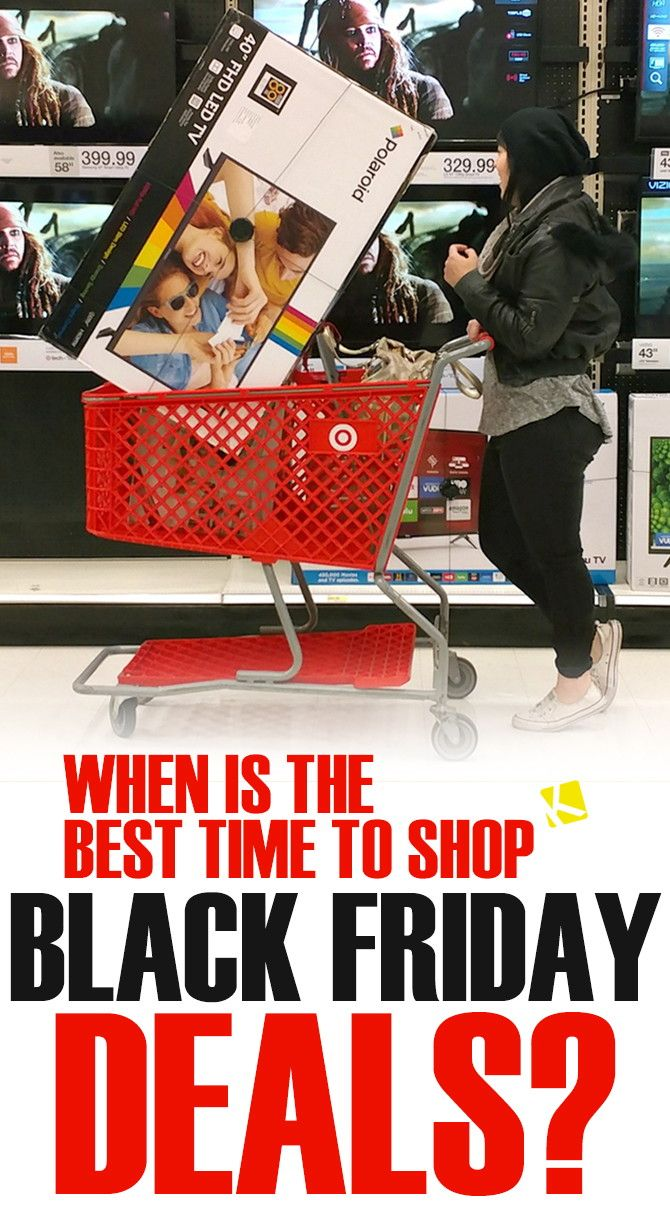 Black Friday Shop When Is The Best Time To Shop Black Friday 2018 Deals Happy