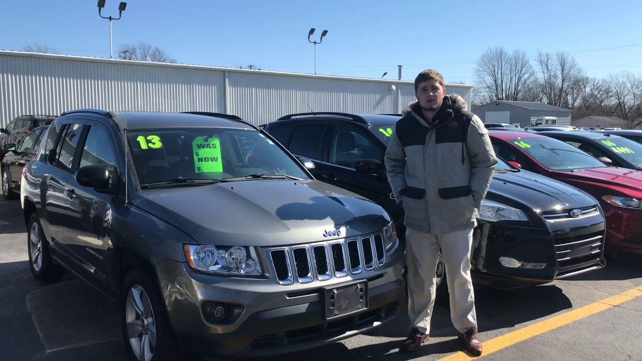 2013 Jeep Compass Latitude At Statewide Ford Lincoln In Van Wert