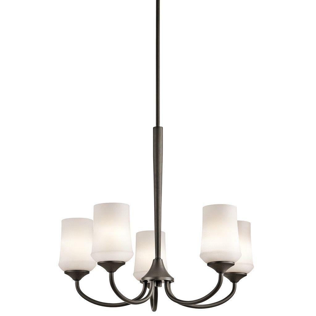 Kichler lighting aubrey collection light olde bronze led