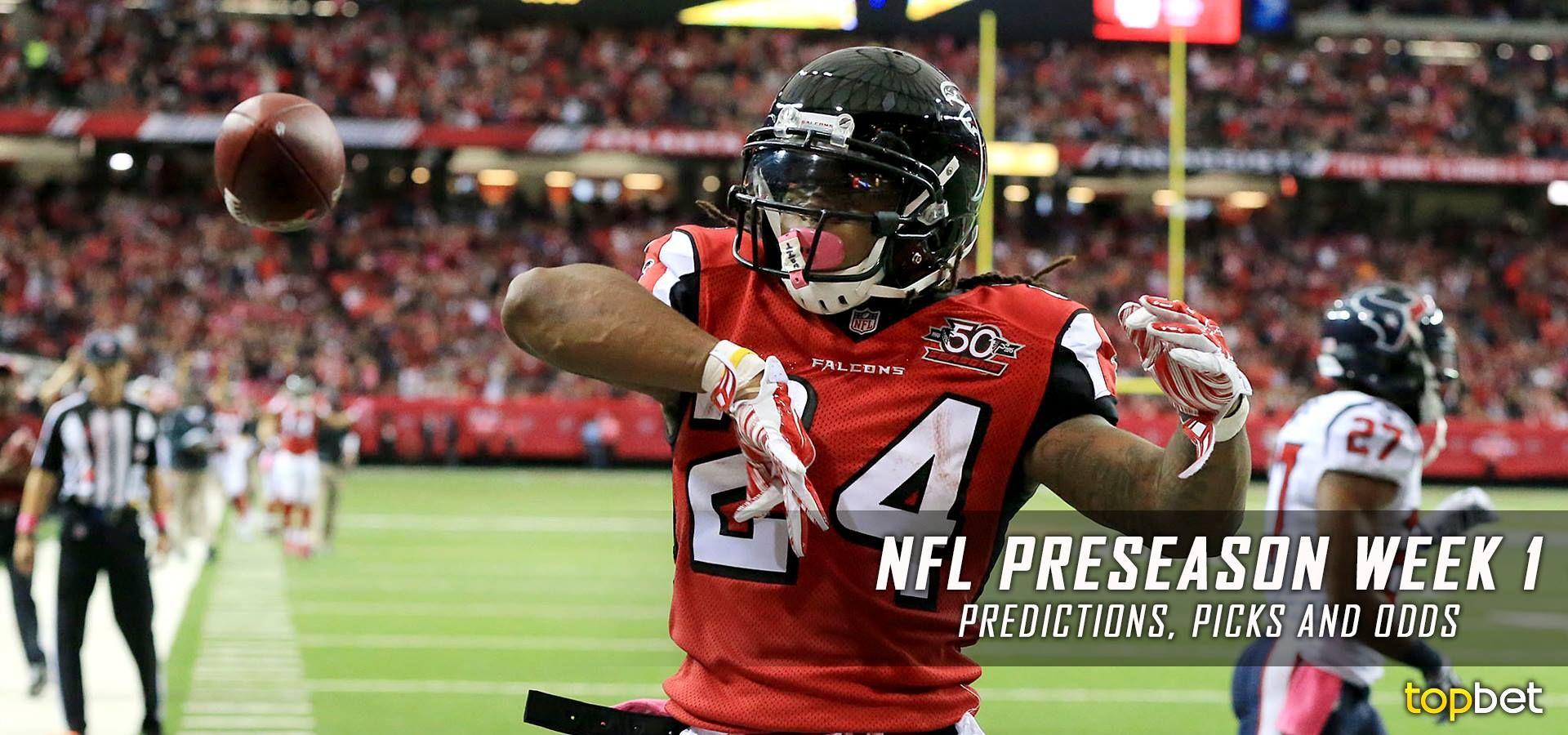 NFL Preseason Week 1 Predictions, Picks and Preview 2016