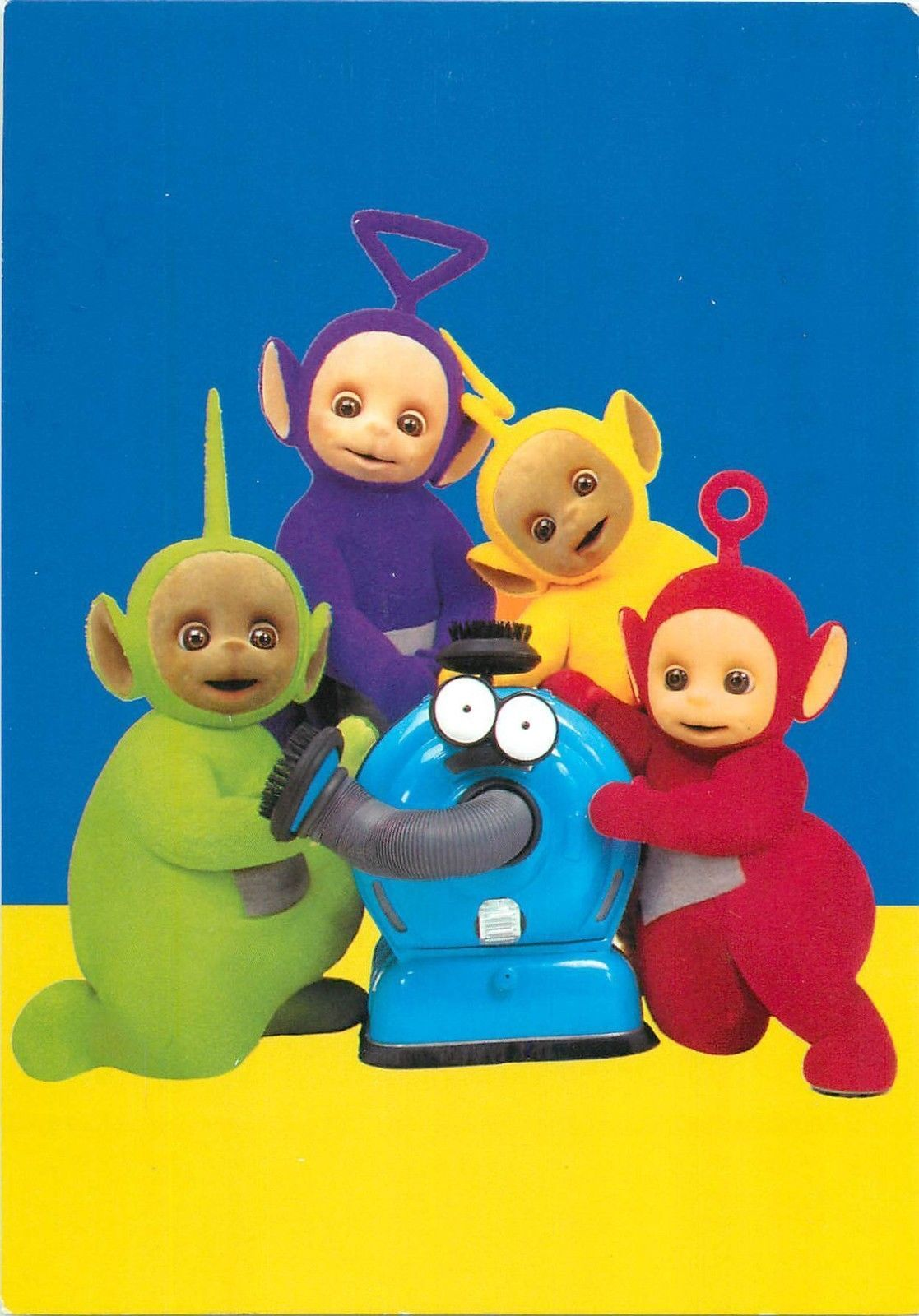 Teletubbies Characters And Noo Noo Postcard Ebay テレタビーズ