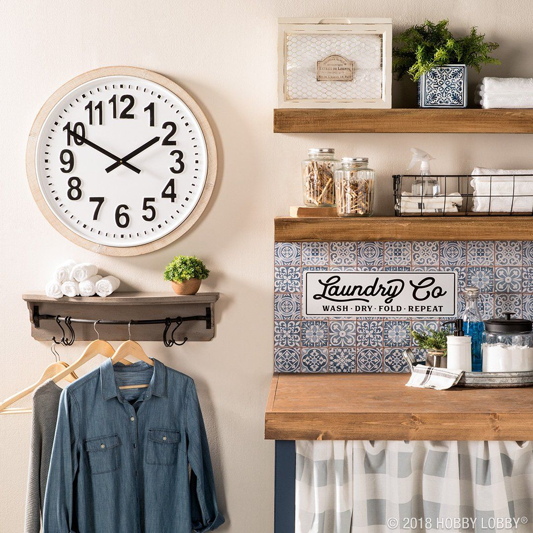 Show Your Laundry Room Some Love With Tidy And Trendy Storage