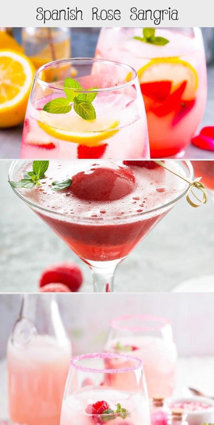 Spanish Rose Sangria Pinokyo In 2020 Tesco Real Food Mocktails Fancy Drinks